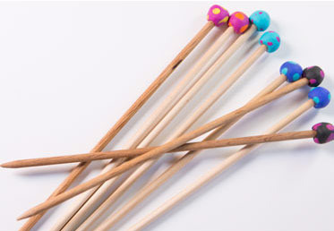 Knitting-needles