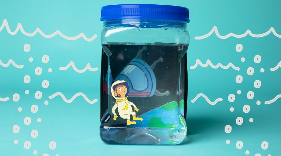 STEAM: Make a Sea Monkey Habitat