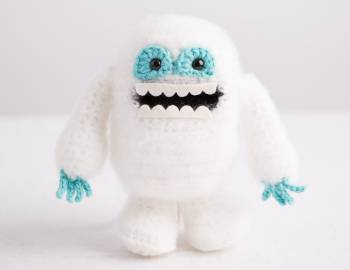 Crocheted Abominable Snowman