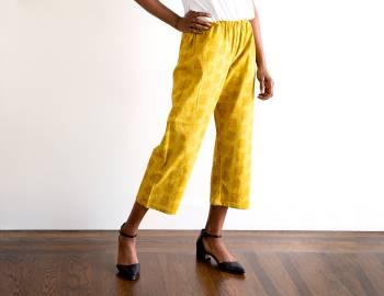 Wardrobe Basics: Sewing Pants No. 1