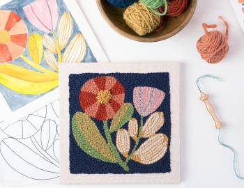 Punch Needle Embroidery Workshop