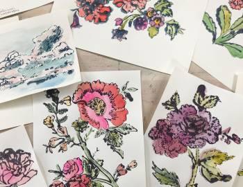 Andy Warhol Inspired Monoprints