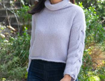 Knit the Lady Soul Sweater