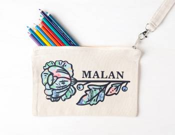 Cricut Crafts: Make a Custom Pencil Pouch