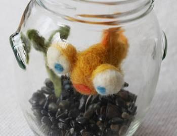 Needle Felted Goldfish