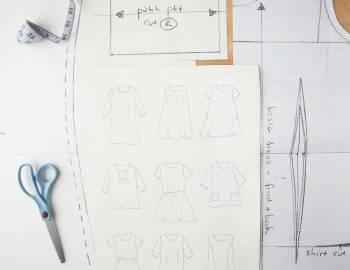 Pattern Drafting: Make a Master Dress Pattern