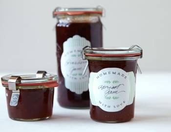 Cricut Crafts: DIY Jar Labels
