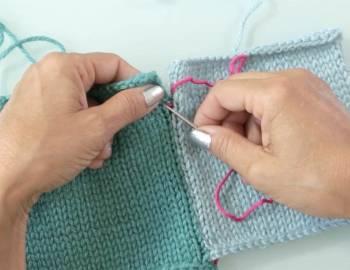 Mattress Stitch - Finishing Your Knitting