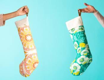 Sew Modern Christmas Stockings