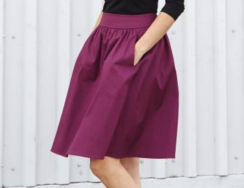 Learn to Sew Clothes: Finishing Your Skirt