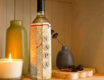 Map Wine Wrap