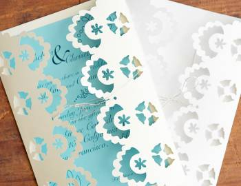 Cricut Crafts: Lace Greeting Cards