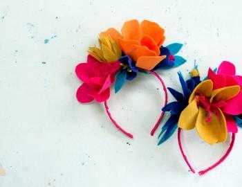 Frida Kahlo Inspired Headband