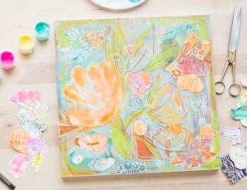 Creative Sketchbooking: Out of the Sketchbook and Onto the Canvas