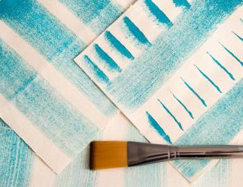 How to Brush Paint on Fabric