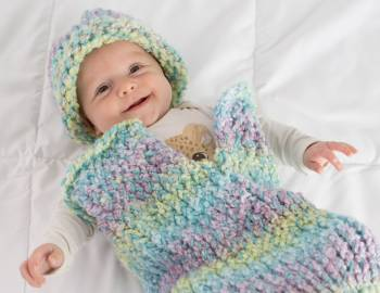 Loom Knitting: Make a Baby Cocoon