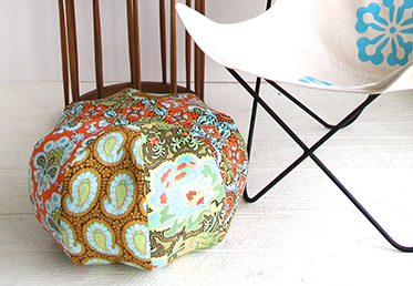Amy Butler teaches you how to build a diy pillow in sections, insert an invisible zipper and finish the pillow in this class.