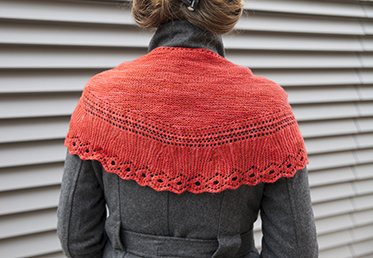 In this class, knitwear designer Gudrun Johnston shares one of her patterns for making a beautiful Shetland-inspired lace shawl.