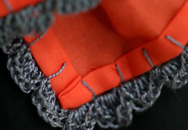Come join Anna Maria Horner who teaches you to blanket stitch and double crochet.  In this online craft class you'll learn the delicate edging detail to develop your diy garment making and skills to make your own clothes.