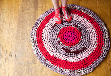 Crochet a Rag Rug by Cal Patch