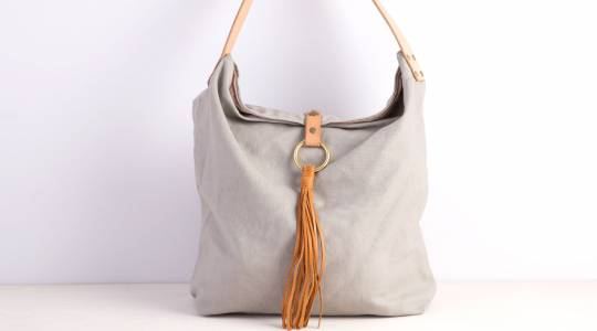 Sew a Linen Bucket Bag