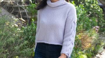 Top-Down Sweater Knitting by Wendy Bernard - Creativebug