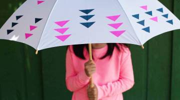 Appliqué Umbrella