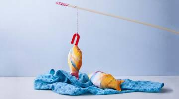 Fabric Fishing Game
