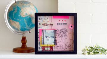How to Make a Shadowbox Collage