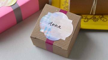 Cricut Crafts: Color Splash Sticker Labels