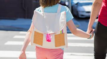 Sew a Kids' Back to School Backpack