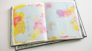 How to Make a Blank Art Journal