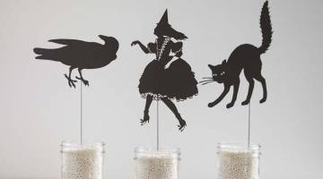 Cricut Crafts: Make Halloween Shadow Puppets