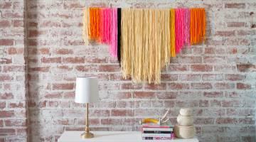 DIY Yarn Banners