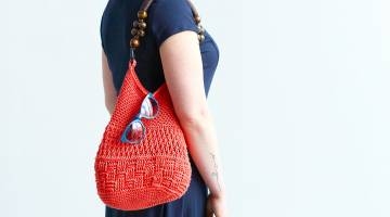 Crocheted Summer Bag