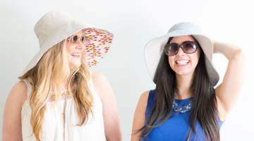 Sew a Reversible Sun Hat
