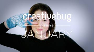 Creativebug Presents January 2016