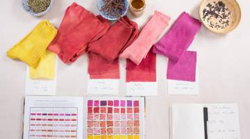 Natural Fabric Dyeing: How to Dye Cotton and Other Cellulose Fibers