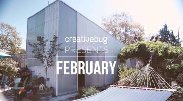 Creativebug Presents February 2016