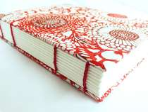 Coptic bound book with beautiful Indian paper