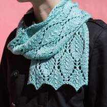 Debbie Stoller demystifies knitting lace by teaching you cast on techniques. She also teaches you how to read a lace knitting chart with this online lesson and diy lace scarf project.