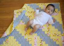 Log Cabin Quilting: Block-setting Basics and Sewing a Baby Quilt