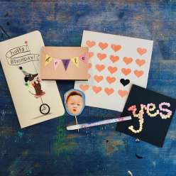 Sakura Quickie Glue Cards: 9/15/16