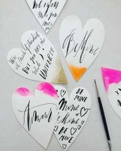 Brush Lettering: 2/2/17