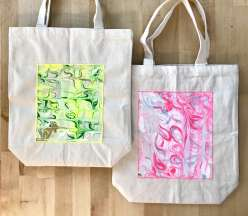 Marbled Totes: 9/7/17