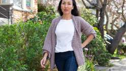 Super Slouch Crocheted Cardigan