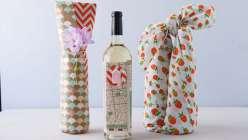 Creative Wine Wrapping