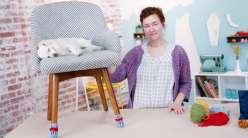 Crochet Socks for Your Chair