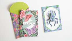 Cricut Crafts: Layered Nature Card