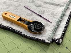 Crochet Edge Baby Blanket: 9/19/19